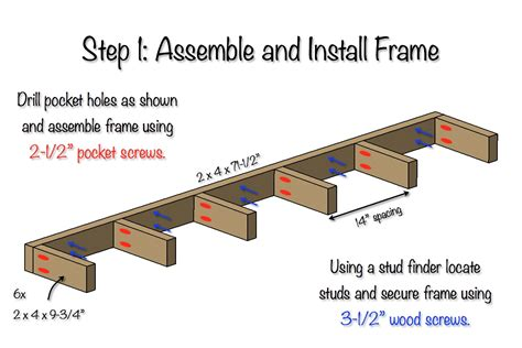 Free Floating Wall Shelf Plans