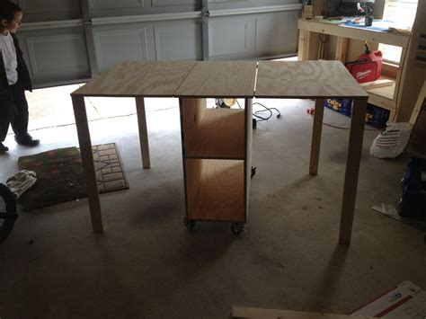 Free Folding Sewing Table Plans