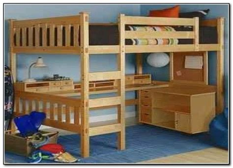 Free Full Size Loft Beds Blueprints Of Houses