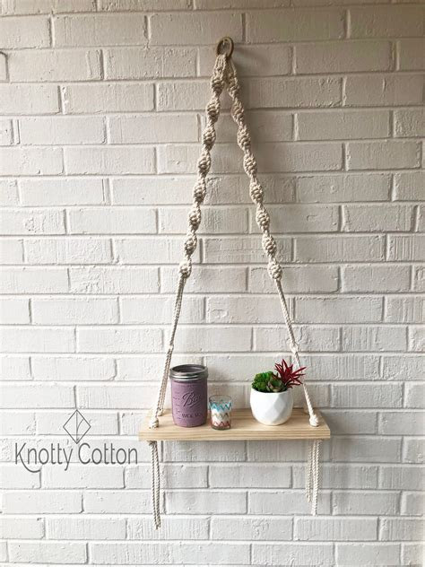 Free Hanging Shelves Diy
