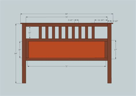 Free Headboard Patterns For King Size Bed