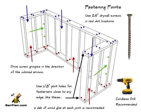 Free Home Bar Frame Plans