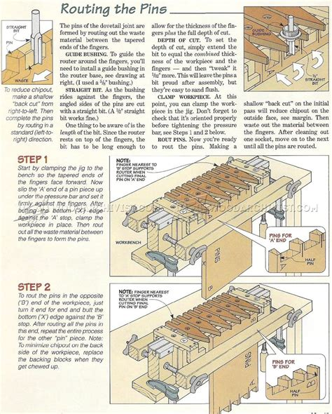Free Homemade Dovetail Jig Plans Cabinets