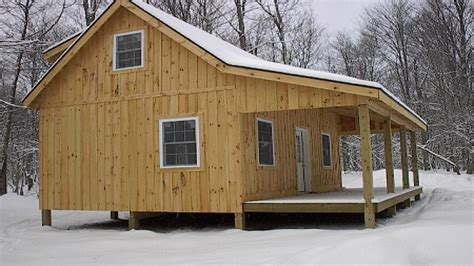 Free Hunting Cabin With Loft Floor Plans