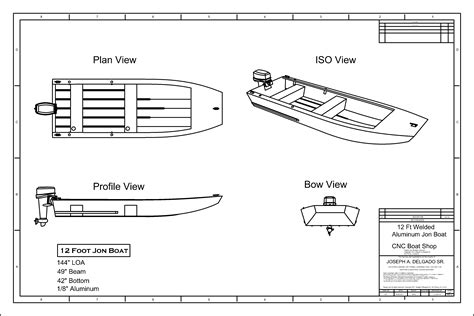 Free Jon Boat Plans Examples
