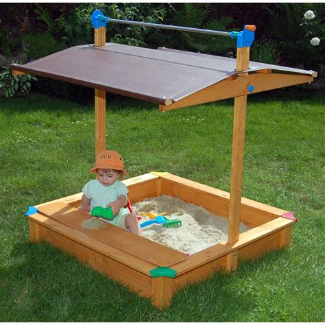 Free Kids Sandbox Plans With Canopy