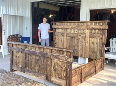 Free King Size Bed Woodworking Plans