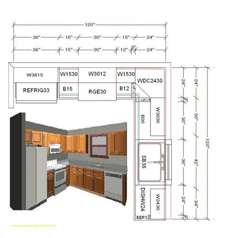 Free Kitchen Plans With Dimensions