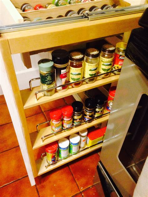 Free Kitchen Spice Rack Design