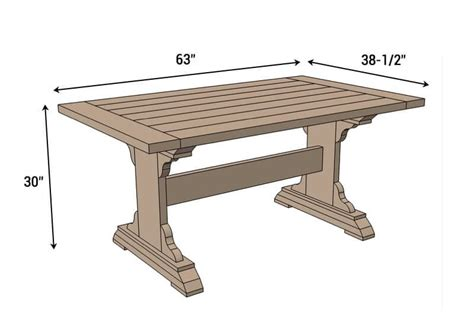 Free Kitchen Table Bench Plans
