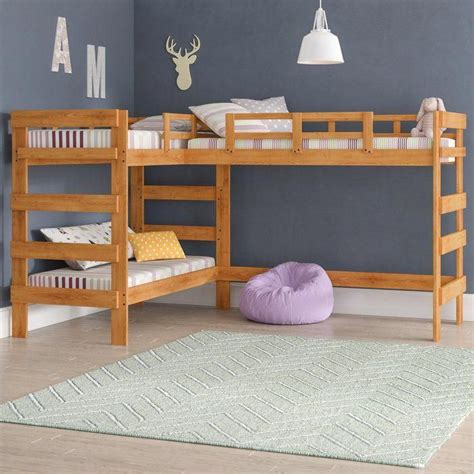 Free L Shaped Triple Bunk Bed Plans