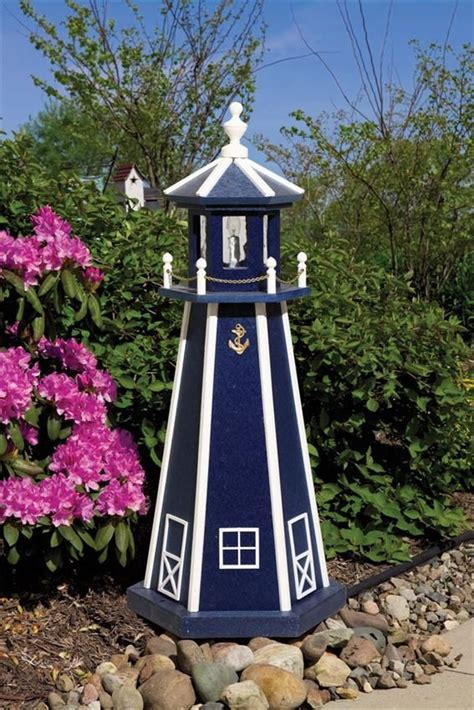 Free Lawn Lighthouse Plans