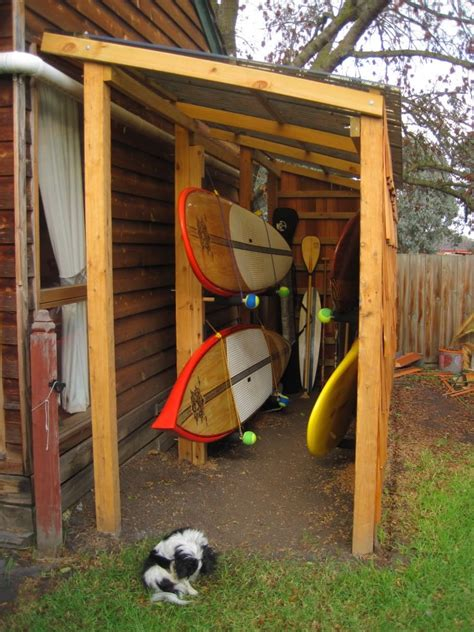 Free Lean To Shed Plans DIY Iambic Paddles