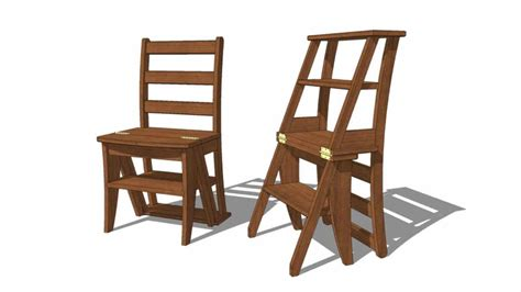 Free Library Chair Woodworking Plans