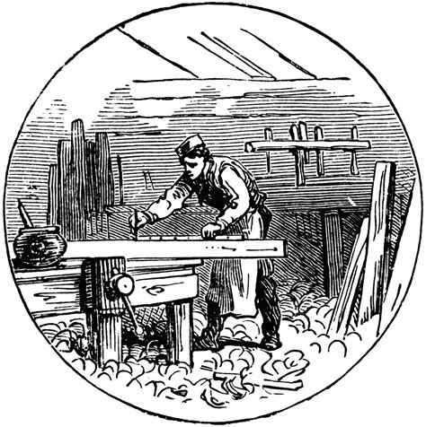 Free Line Art Woodworkers Workshops