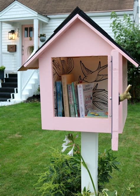 Free Little Free Library Plans Bsa