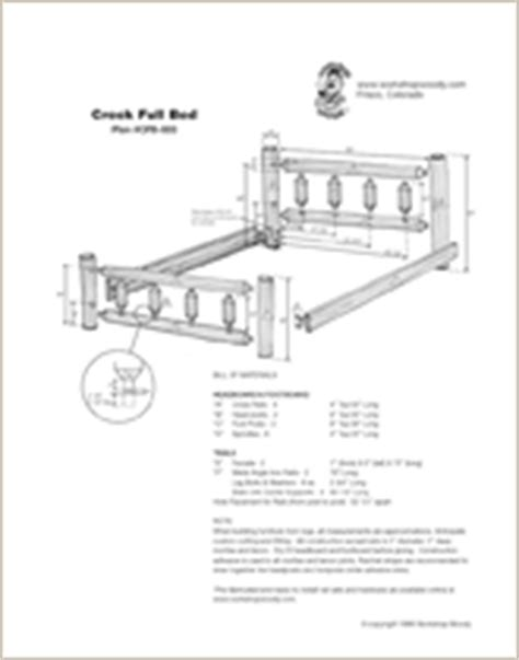 Free Log Bed Plans