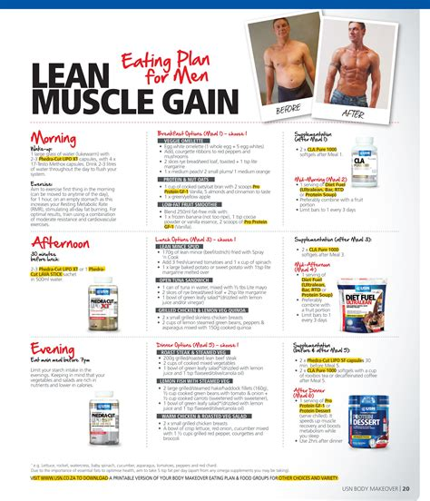 Free Meal Plans To Lose Weight And Build Muscle