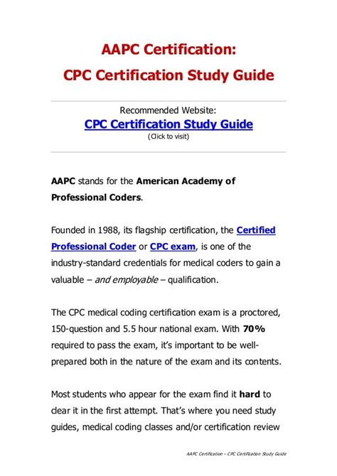 @ Free Medical Billing And Coding Certification Study Guide .