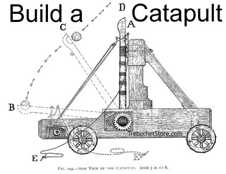 Free Medieval Catapult Plans And Designs