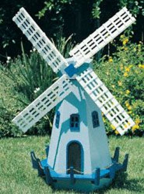 Free Miniature Windmill Plans