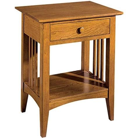 Free Mission Style Nightstand Plans To Build