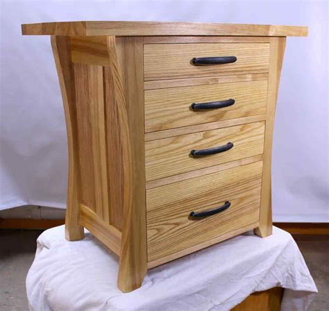 Free Mission Style Nightstand Plans With Gun