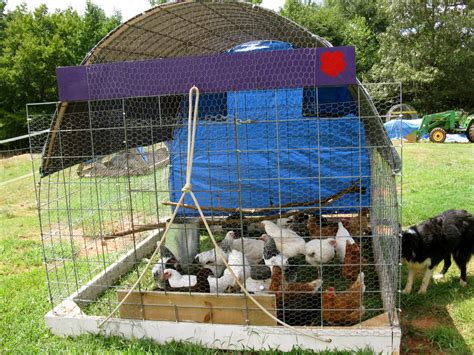 Free Mobile Chicken Tractor Plans