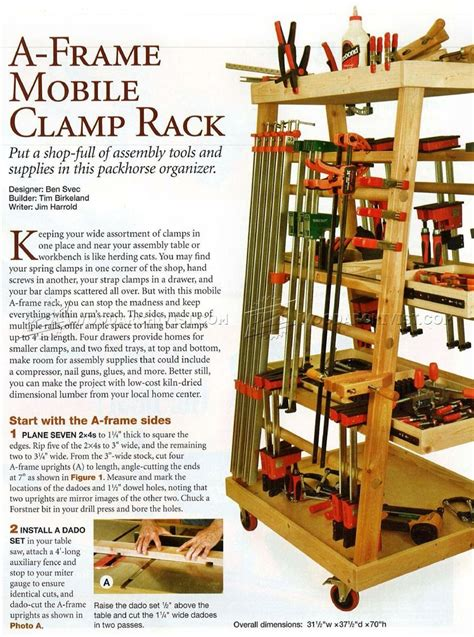 Free Mobile Clamp Storage Plans