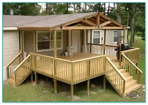 Free Mobile Home Deck Plans