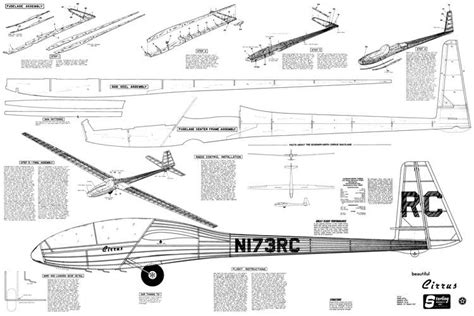 Free Model Airplane Plans Gliders