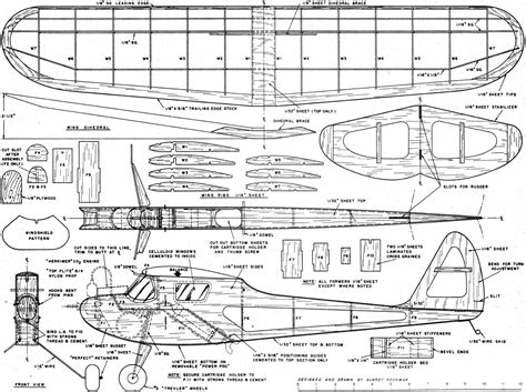 Free Model Helicopter Plans