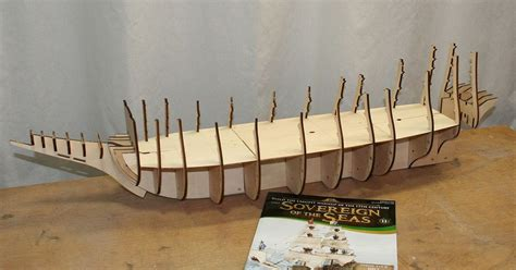 Free Model Wooden Ship Plans