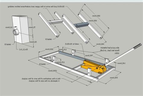 Free Motorcycle Lift Table Plans