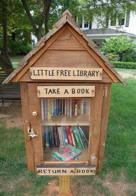 Free Neighborhood Library Box Plans