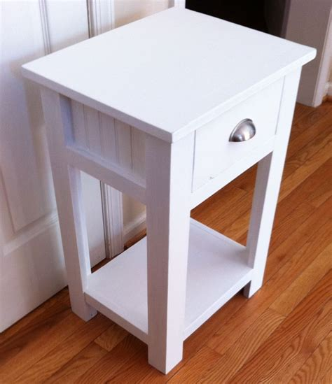 Free Night Stand Plans To Build Yourself