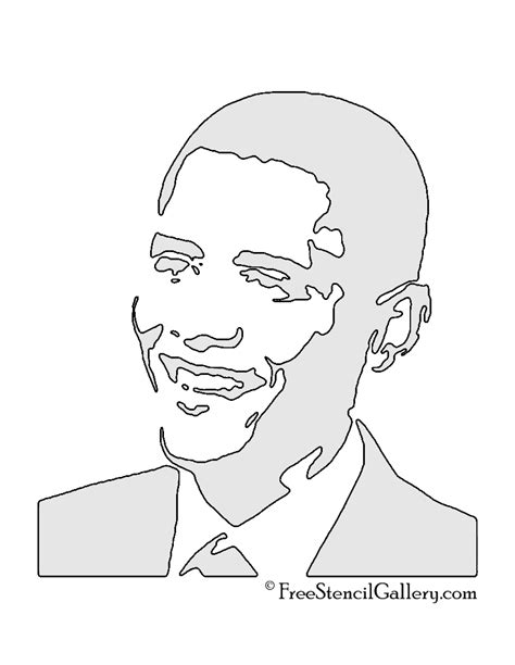 Free Obama Pumpkin Carving Patterns