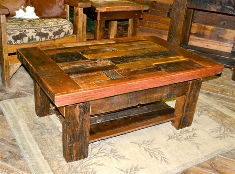 Free Old Barn Wood Furniture Plans