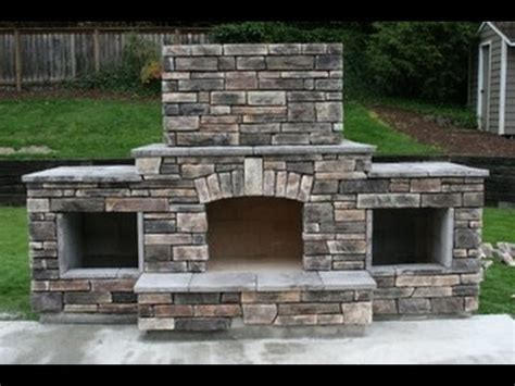 Free Outdoor Fireplace Blueprints