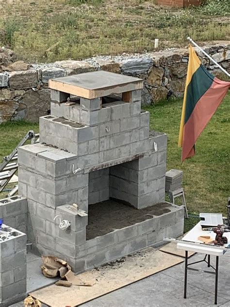Free Outdoor Fireplace Building Plans