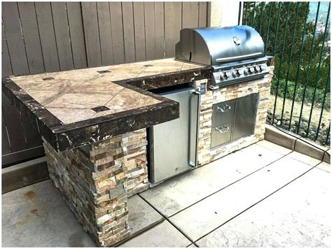 Free Outdoor Grill Island Plans