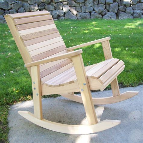 Free Outdoor Rocking Chair Plans