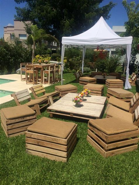 Free Pallet Garden Furniture Plans