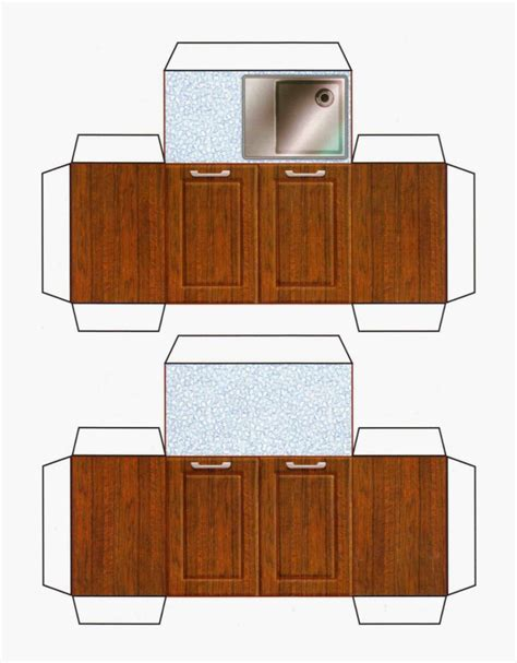 Free Paper Doll Furniture Printable