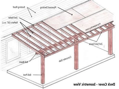 Free Patio Cover Plans Do it yourself Home