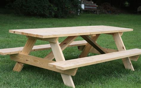 Free Picnic Table Plans Online