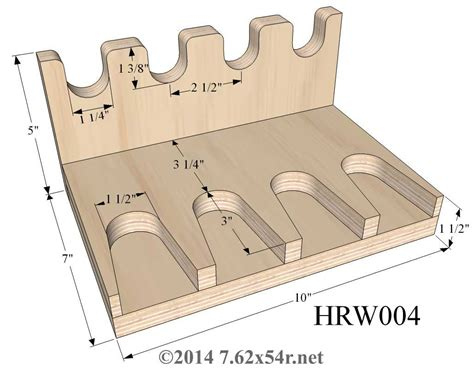 Free Pistol Gun Rack Plans
