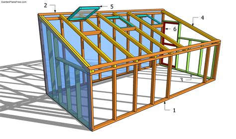 Free Plans For A Lean To Greenhouse