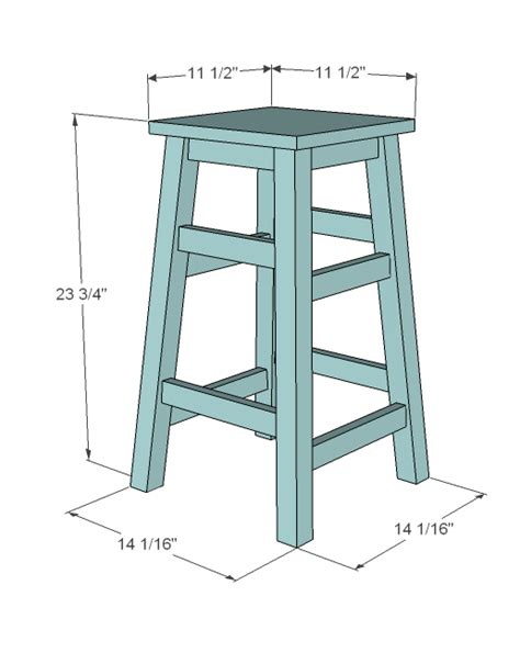 Free Plans For A Shop Stool