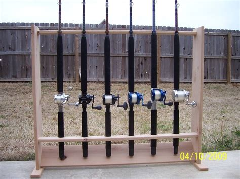 Free Plans For Building A Fishing Rod Rack